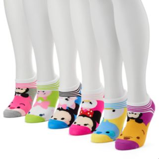 Women's 6-pk. Disney Tsum Tsum No-Show Socks