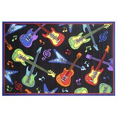 Fun Rugs Fun Time Guitars Rug