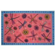 Fun Rugs Fun Time Dragonflies Rug