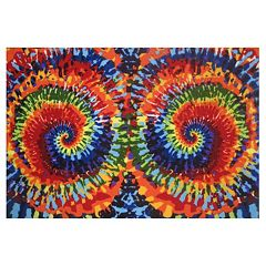Fun Rugs Fun Time Tie-Dye Fun Rug