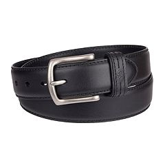 Men's Columbia Feather-Edge Leather Belt
