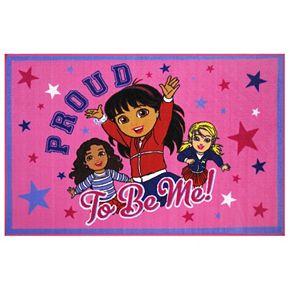 Fun Rugs Dora ''Proud To Be Me'' Rug