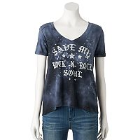 Women's Rock & Republic® High-Low Graphic Tee
