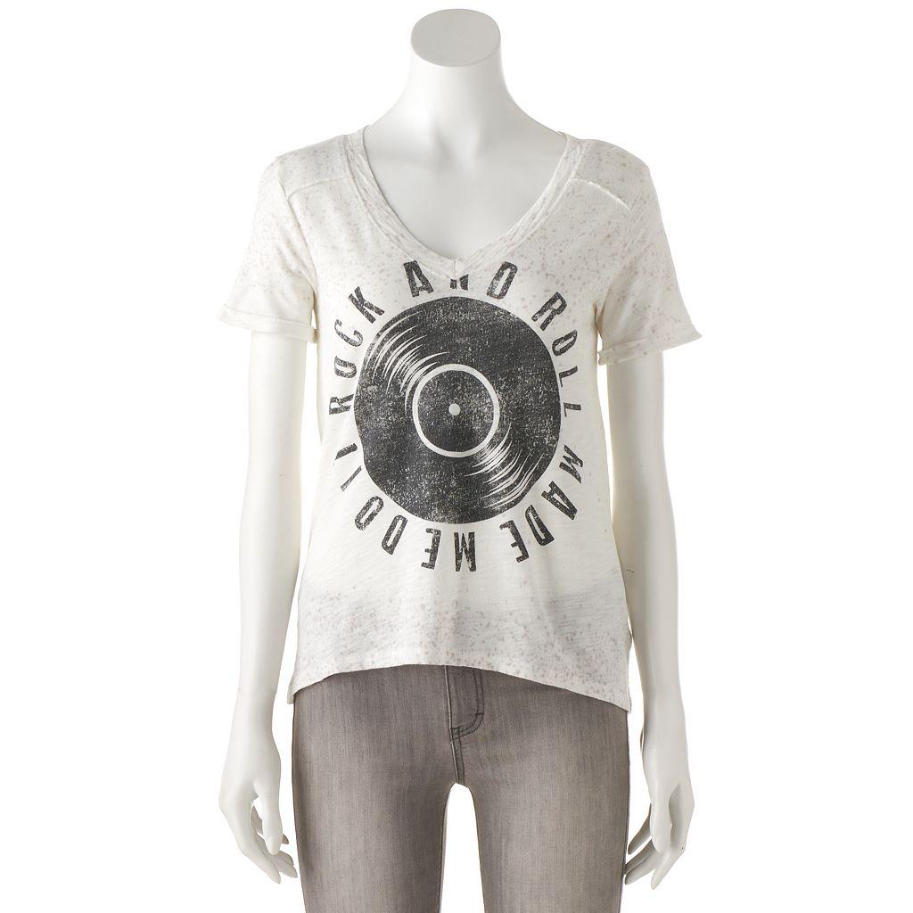 Women's Rock & Republic® High-Low Graphic Tee