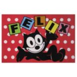 Fun Rugs Felix The Cat Dots Rug