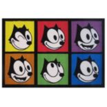 Fun Rugs Felix The Cat Portraits Rug