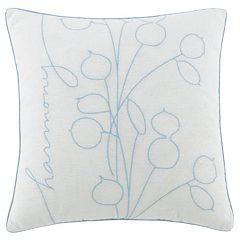 Kathy Davis Tranquility Harmony Throw Pillow