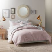 LC Lauren Conrad Swiss Dot Comforter Set