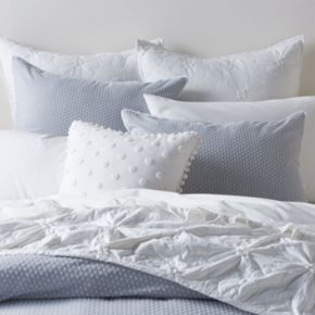 LC Lauren Conrad Swiss Dot Duvet Cover Set