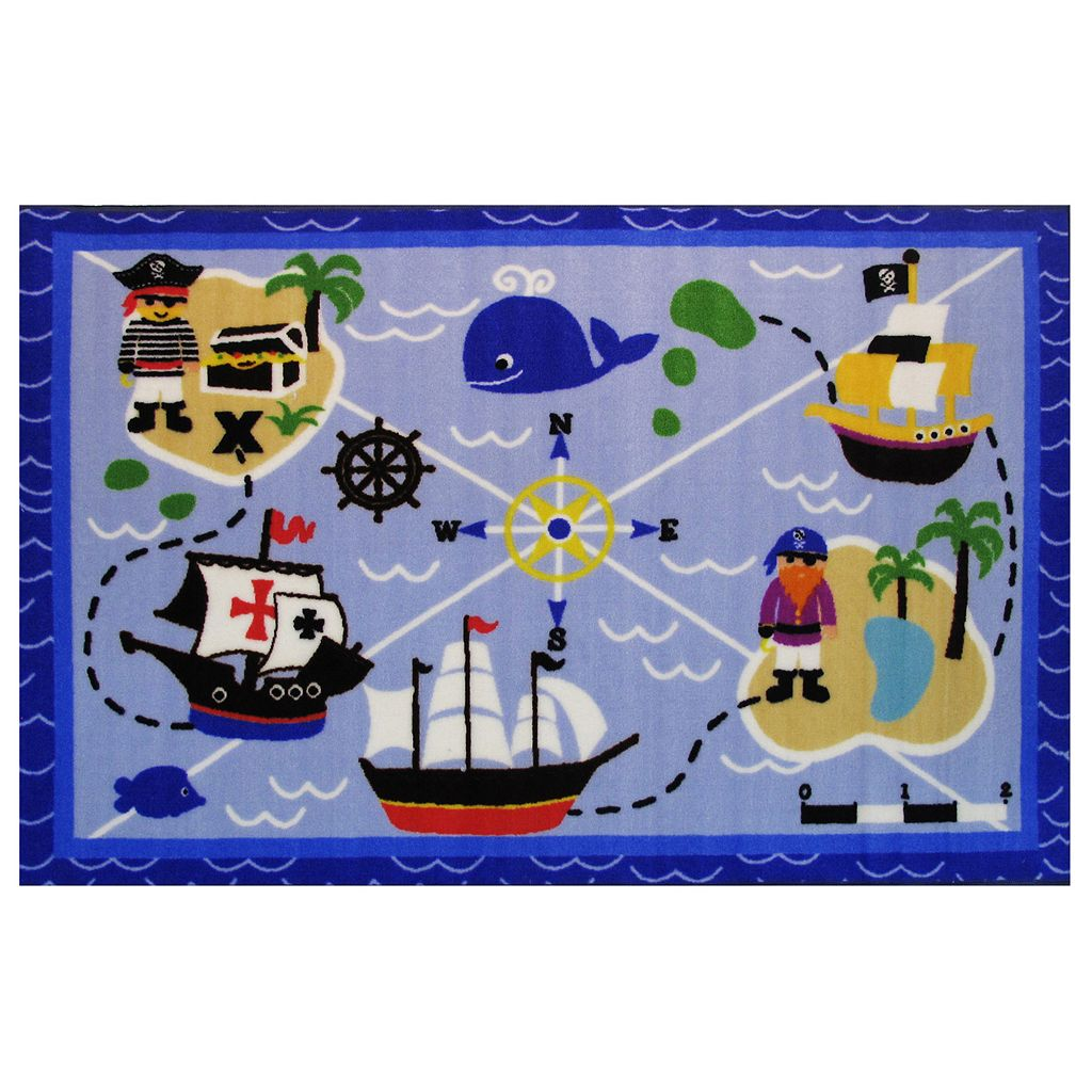 Fun Rugs Fun Time Buried Treasure Rug