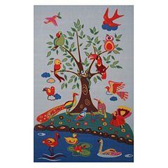 Fun Rugs Fun Time Birds Of Paradise Rug