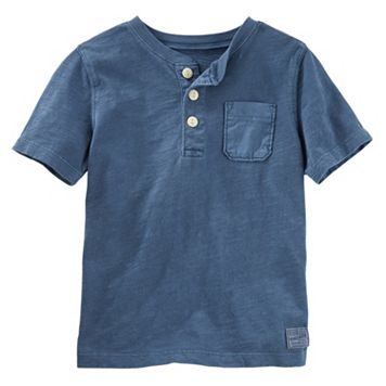 Boys 4-8 OshKosh B'gosh® Solid Henley Top