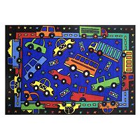 Fun Rugs Fun Time Beep, Beep Rug