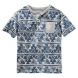 Boys 4-8 OshKosh B'gosh® Geometric Henley Tee