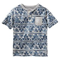 Boys 4-8 OshKosh B'gosh® Geometric Henley Tee