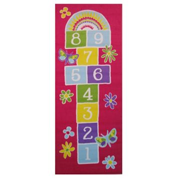 Fun Rugs Fun Time Garden Hopscotch Rug