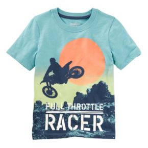 "Boys 4-8 OshKosh B'gosh® ""Full Throttle Racer"" Tee"