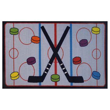Fun Rugs Fun Time On The Ice Rug