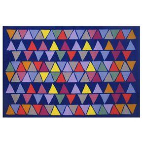 Fun Rugs Fun Time Pyramid Party Geometric Rug