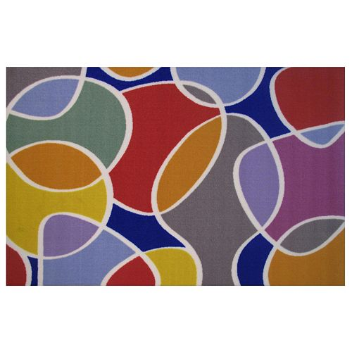 Fun Rugs Fun Time Groovin' Geometric Rug