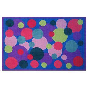 Fun Rugs Fun Time Poppin' Bubbles Geometric Rug