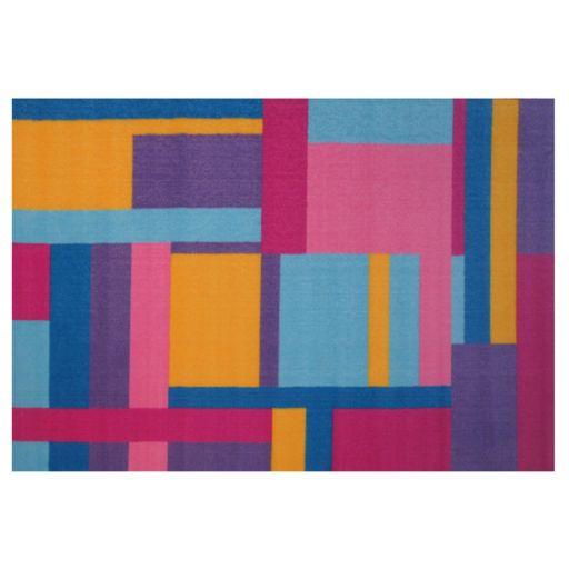 Fun Rugs Fun Time Tetris Geometric Rug