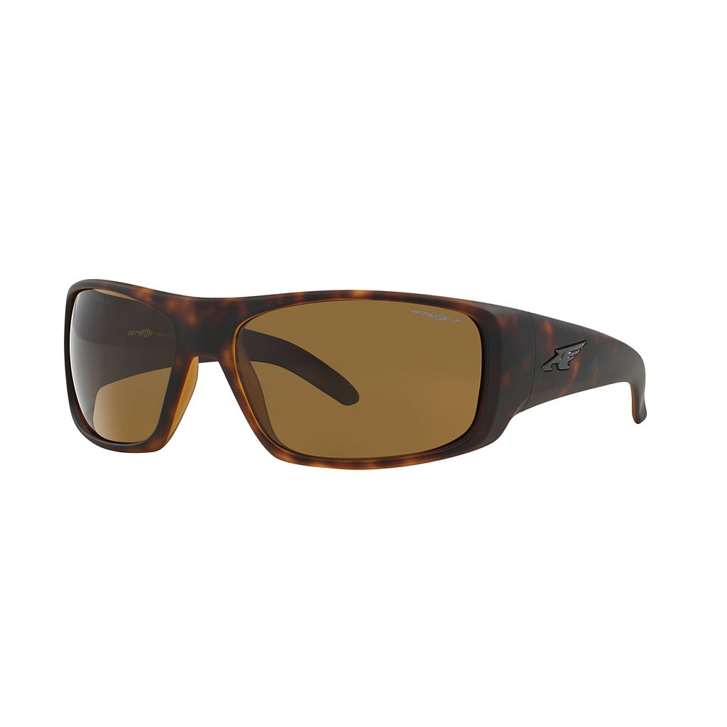 Arnette La Pistola AN4179 66mm Rectangle Polarized Sunglasses