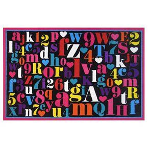 Fun Rugs Fun Time Alphabet Rug