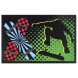 Fun Rugs Fun Time Board Flip Rug