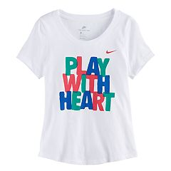 Girls 7-16 Nike 'Play With Heart' Graphic Tee