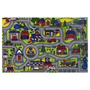 Fun Rugs Fun Time Driving Time Rug