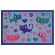 Fun Rugs Fun Time Kitty Cats Rug