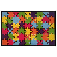 Fun Rugs Fun Time Jigsaw Puzzle Rug