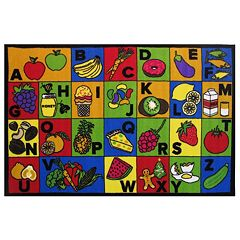 Fun Rugs Fun Time ABC Food Rug