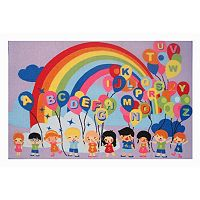Fun Rugs Fun Time Educational Balloons Rug