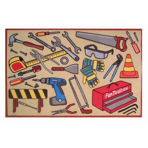 Fun Rugs Fun Time Toolbox Rug