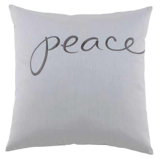 Kathy Davis Solitude Peace Throw Pillow