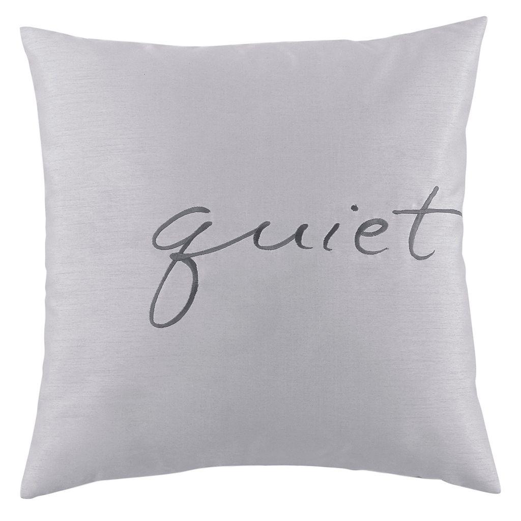 Kathy Davis Solitude Quiet Throw Pillow
