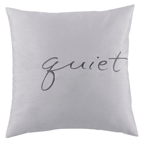 Kathy Davis Solitude Quiet Throw Pillow