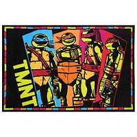 Fun Rugs Teenage Mutant Ninja Turtles ''TMNT'' Rug