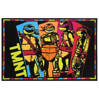Fun Rugs Teenage Mutant Ninja Turtles Tmnt Rug