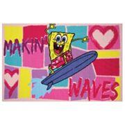 Fun Rugs SpongeBob SquarePants ''Makin' Waves'' Rug