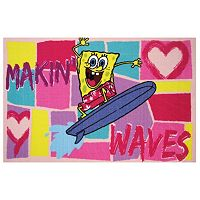 Fun Rugs SpongeBob SquarePants ''Makin' Waves'' Rug
