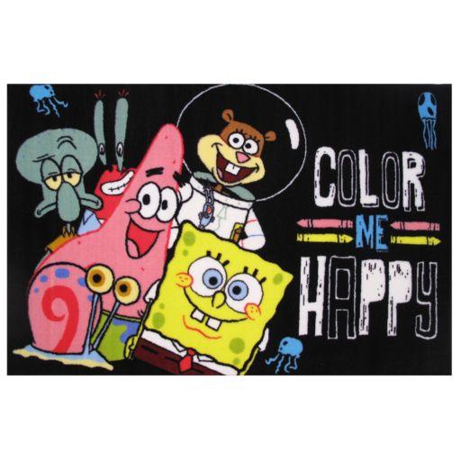 Fun Rugs SpongeBob SquarePants ''Color Me Happy'' Rug