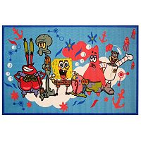 Fun Rugs SpongeBob SquarePants Friends Rug