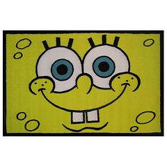 Fun Rugs SpongeBob SquarePants Head Rug