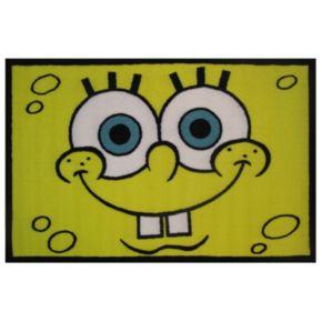 Fun Rugs SpongeBob SquarePants Head Rug