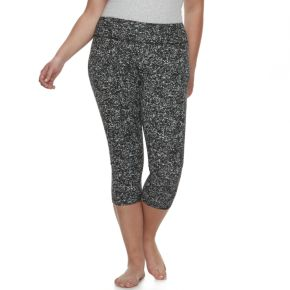Juniors' Plus Size SO® Capri Yoga Leggings