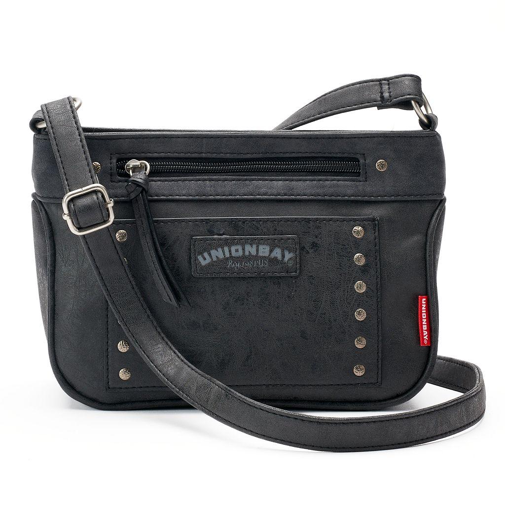 Unionbay Studded Crossbody Bag