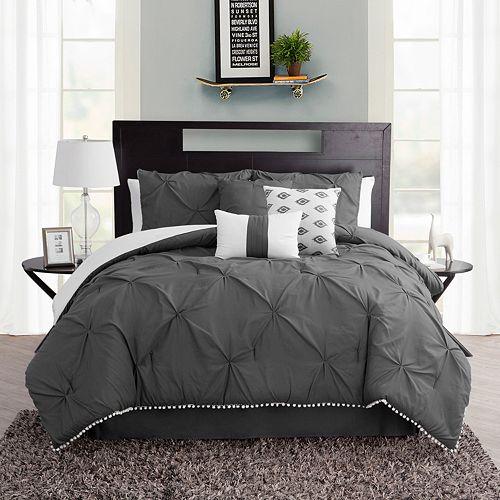 Pom-Pom 7-piece Comforter Set